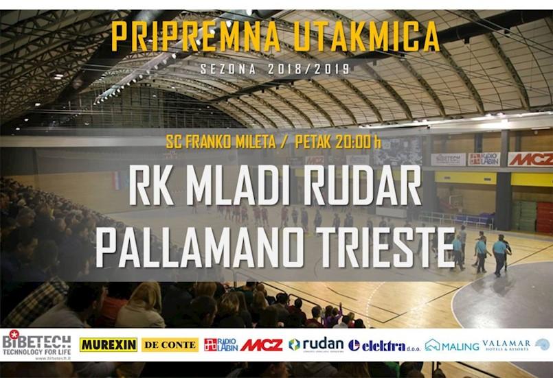 Danas pripremna utakmica RK Mladi Rudar : Pallamano Trieste