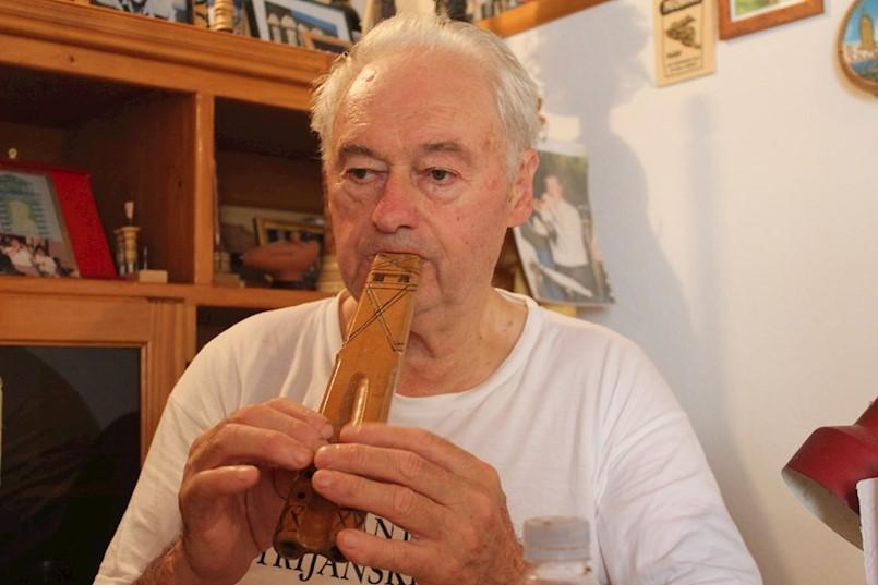 Franko Kos s Labinštine: Za mene je mih amen! Mladi nemaju interes za tradicionalnu glazbu