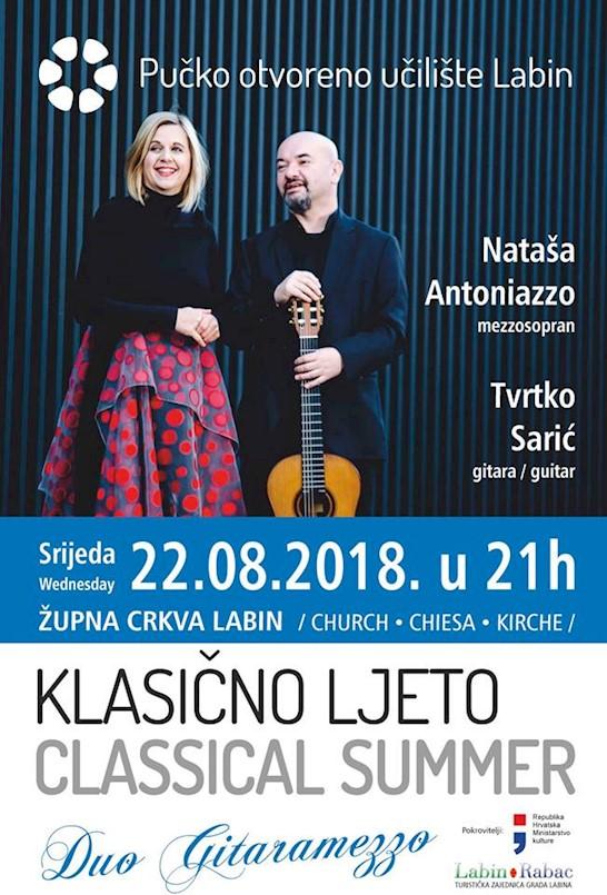 """Klasično ljeto 2018:  Duo """"Guitaramezzo"""""""