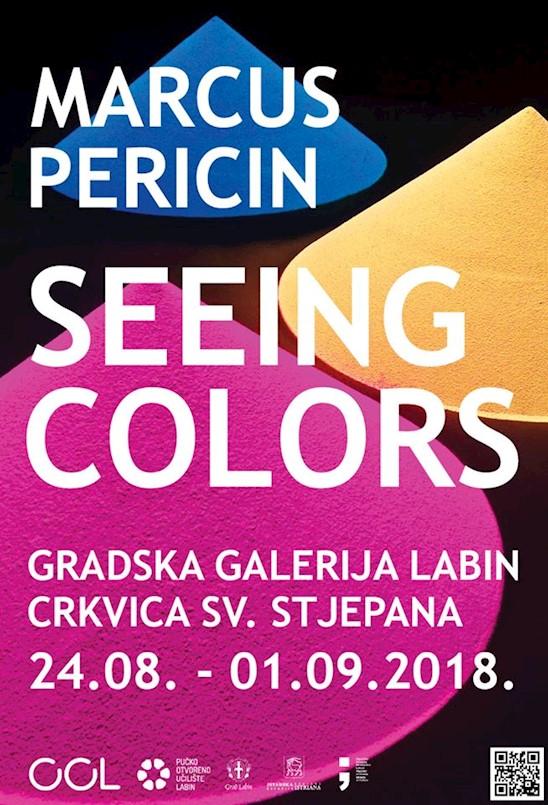 """Danas otvorenje izložba švicarskog autora Marcusa Pericina """"Seeing Colors"""" u Crkvici sv. Stjepana"""
