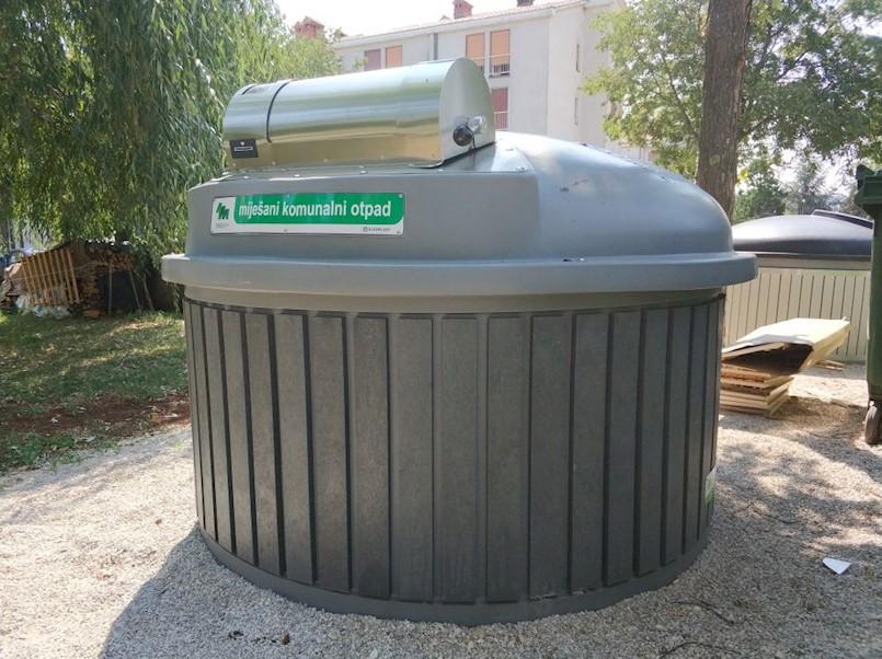 Obavijest o preuzimanju kartica polupodzemnih kontejnera za stanare dijela Katura, Ulice Zelenice i Prtloga