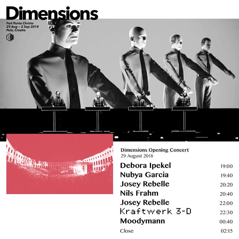 Kraftwerk i Nils Frahm danas predvode impresivni koncert otvorenja Dimensions festivala