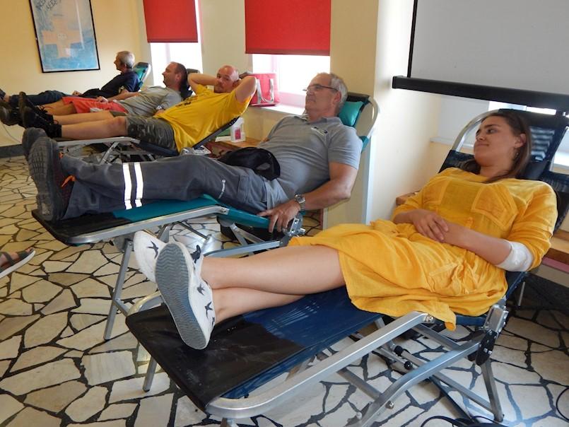 Velika srca Labinjana: Zbog smanjenih zaliha krvi jučer na akciji darivanja krvi prikupljeno 101 doza uz 10 novih darivatelja