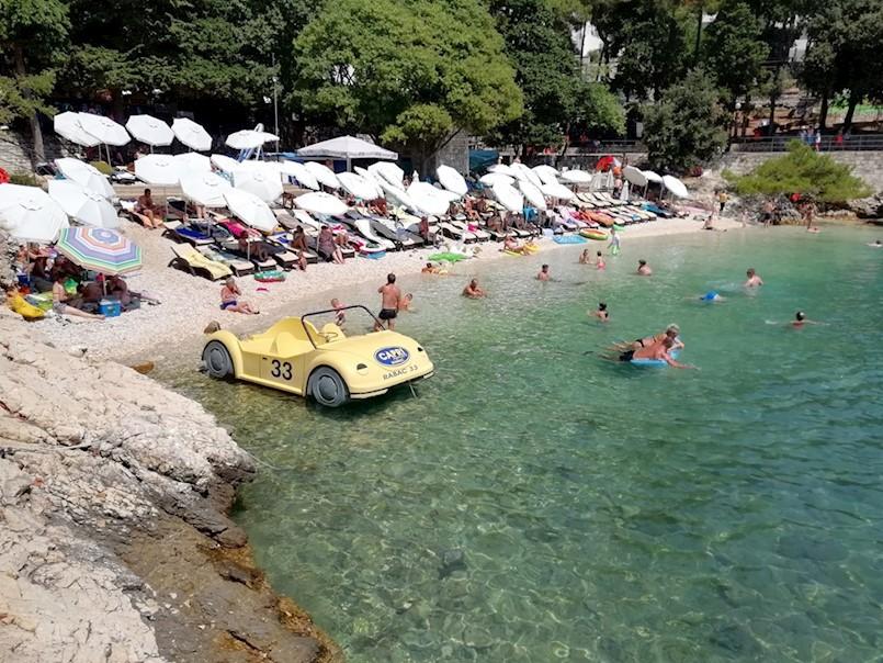 OPORBA TVRDI: Plaže u Rapcu su već krcate, ne može se planirati novi rast kapaciteta