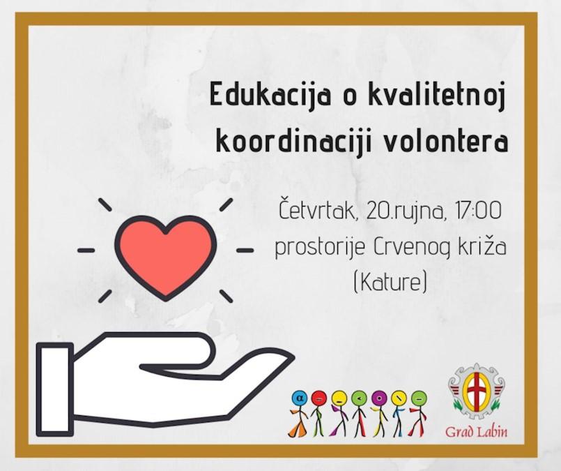 Udruga Alfa Albona poziva na edukaciju o kvalitetnom vođenju volonterskih sati