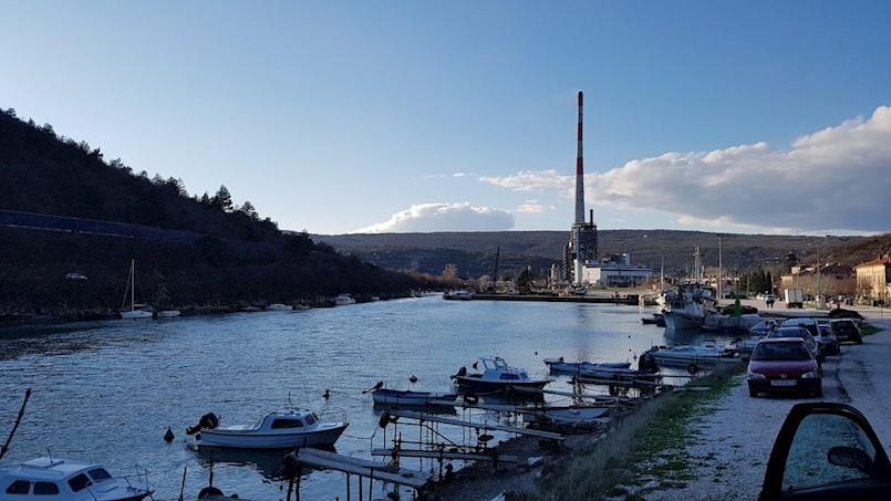 Privezište čamaca u Plomin Luci trebalo bi biti gotovo za 20-tak dana