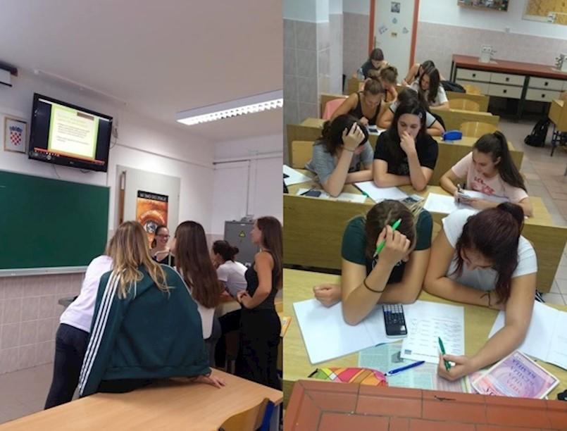 Aktivnosti labinskih srednjoškolaca na Europskom tjednu mobilnosti