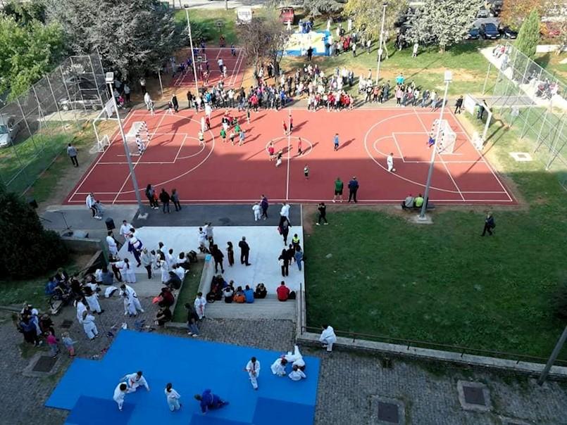 Labin: Otvoreno novo igralište i predstavili se sportski klubovi!