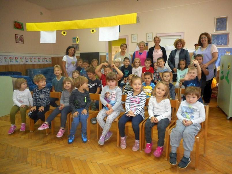 Načelnica Općine Raša posjetila vrtićarce u povodu Dječjeg tjedna