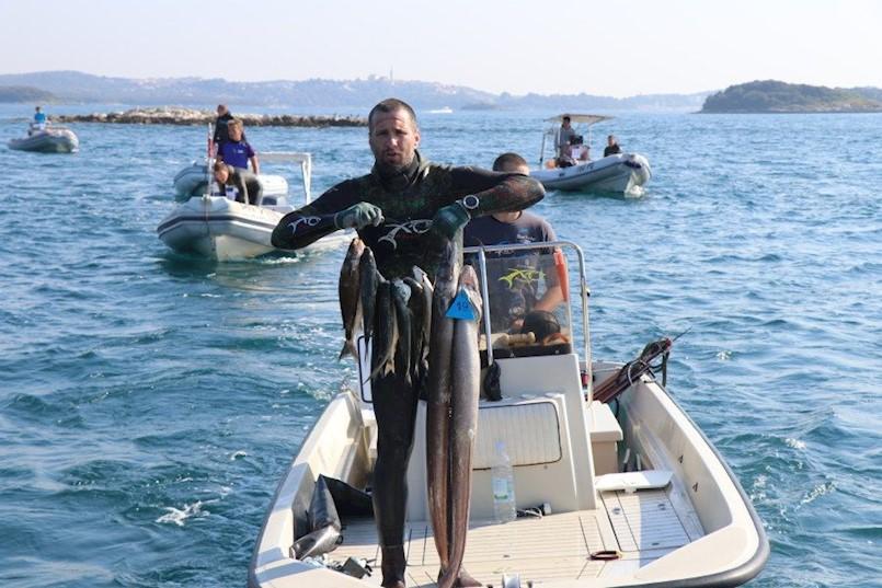 Danijel Pizentić osmi na Prvenstvu Hrvatske u podvodnom ribolovu