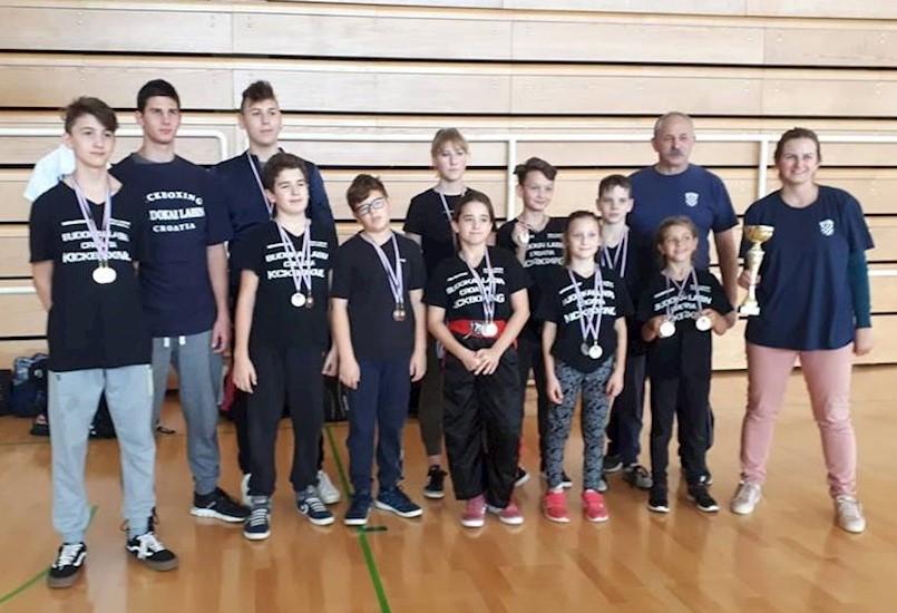 "KBK Budokai drugoplasirani klub na ""Istrian kickboxing Challengeru"""