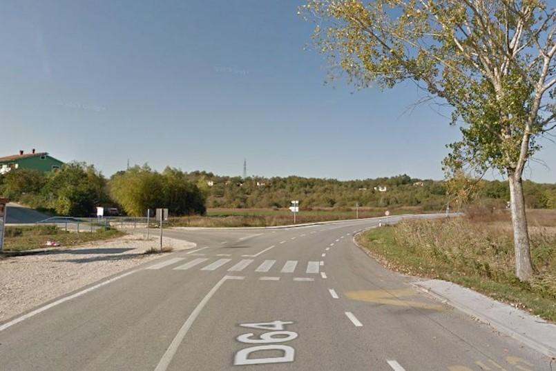 Na cesti Potpićan - Pićan motociklom naletio na dijete i teško ga ozlijedio
