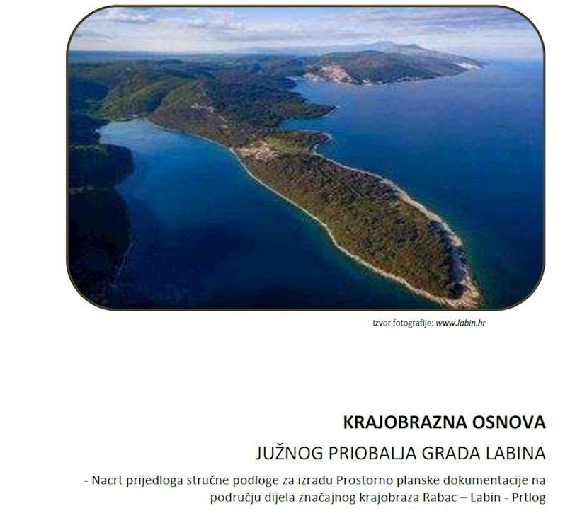 Nacrt Krajobrazne osnove južnog priobalja Grada Labina na javnom je savjetovanju