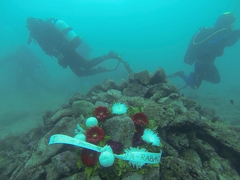 Društvo podvodnih aktivnosti Rabac održalo tradicionalno memorijalno ronjenje