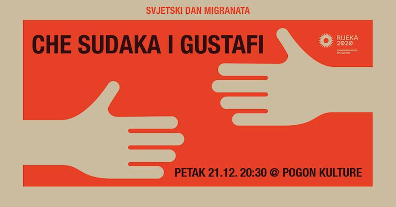 Veliki koncert povodom Svjetskog dana migranata: Che Sudaka & Gustafi u Pogonu kulture