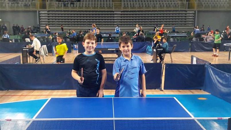 Leo Bernaz i Josip Griparić sudjelovali na Međunarodnom stolnoteniskom prvenstvu Varaždina
