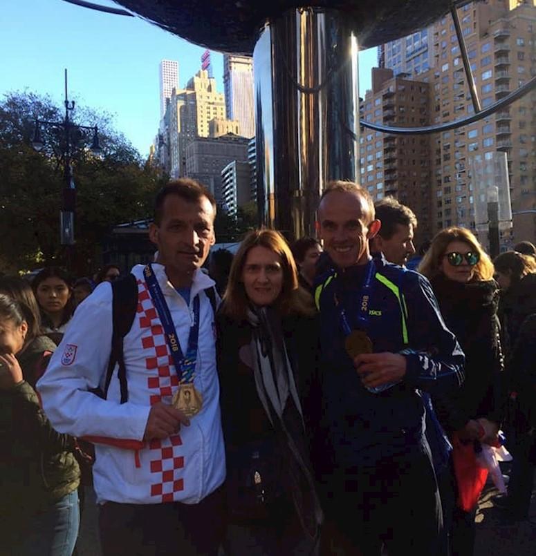 Ivan Stanić istrčao svoj deveti njujorški maraton - gost emisije Sportski intermezzo Radio Labina