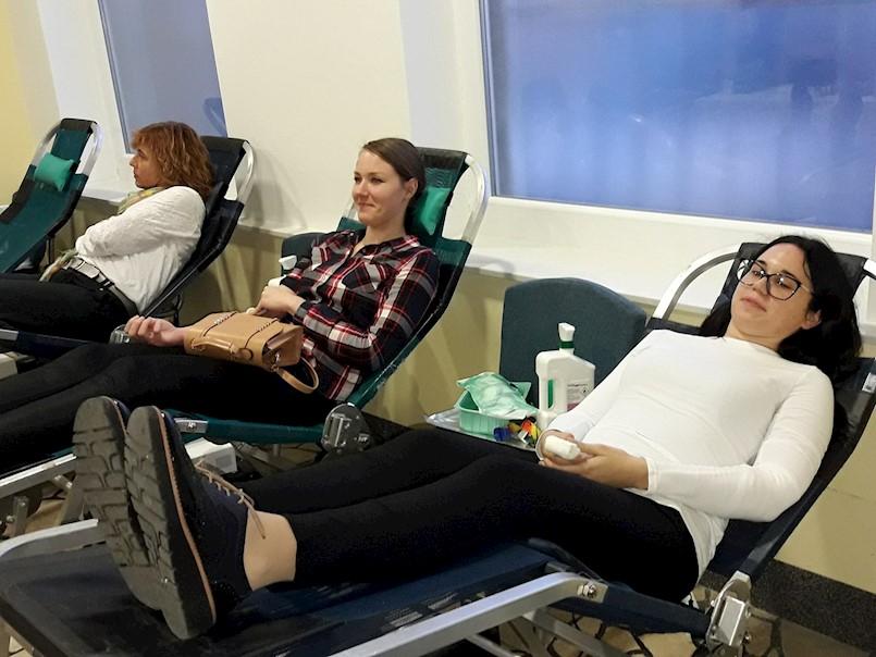 Na desetoj redovnoj akciji darivanja krvi prikupljeno 45 doza krvi | četiri nova darivatelja