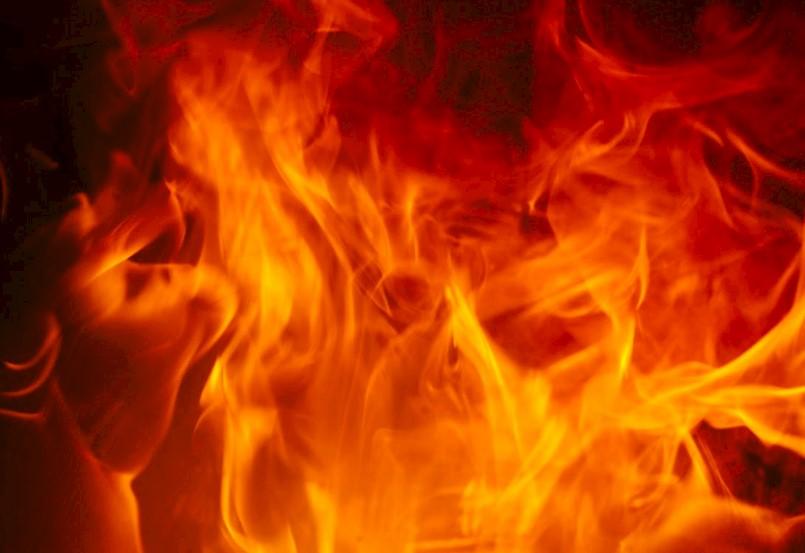 Požar stana u Raši