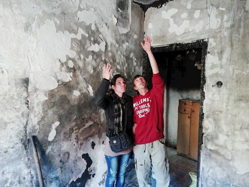 [Slučaj izgorenog stana u Raši] U samo dva dana prikupljeno dovoljno odjeće i obuće za obitelj Dervišaj