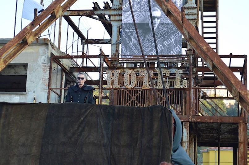 """Massimo Savić promovirao grad ispod grada, grad umjetnosti i kulture: Performans Metal Gurua """"POZZO XXI"""""""