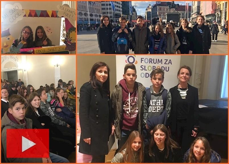 [VIDEO] Veliko priznanje za učenike polaznike Građanskog odgoja i obrazovanja  OŠ Vladimira Nazora Potpićan