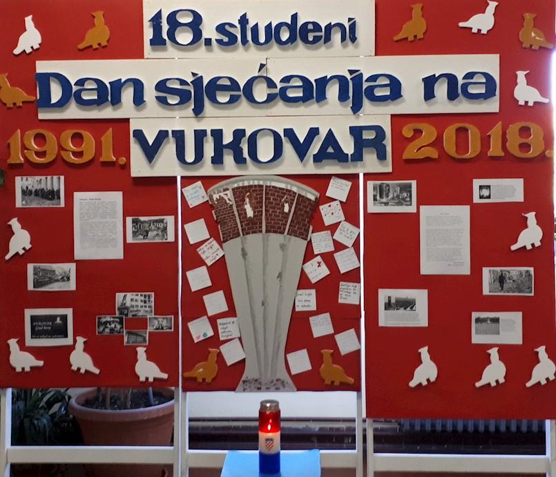 """OŠ """"Ivo Lola Ribar"""" Labin obilježila Dan sjećanja na žrtvu Vukovara"""