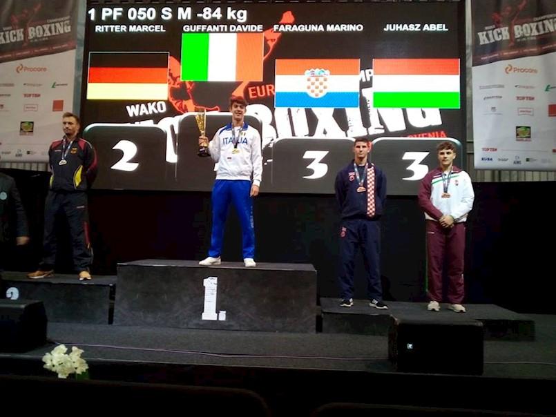 Marino Faraguna brončani na Europskom prvenstvu u kickboxingu