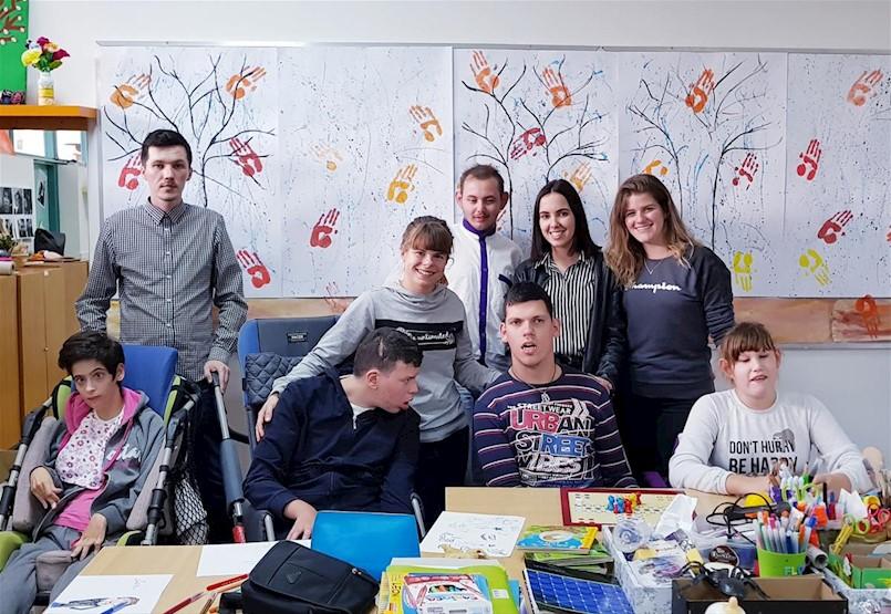Vesela igraonica za djecu s teškoćama u razvoju