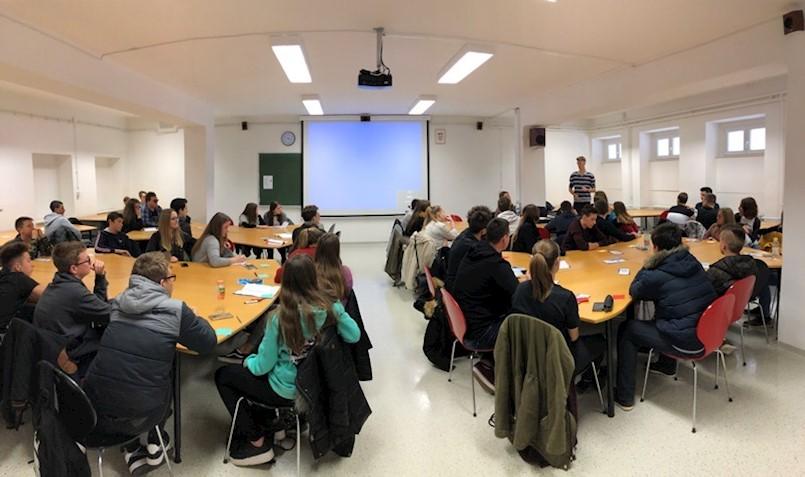 U Srednjoj školi Mate Blažina Labin održana sjednica skupštine vijeća učenika Istarske županije (VUIŽ)