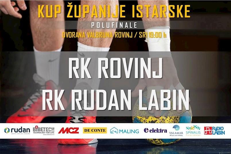 [NAJAVA] RK Rudan Labin večeras igra 9. kolo ŽRL, sutra polufinale kupa ŽI