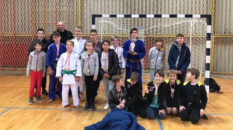 Judo klub Ippon Labin treći na Prvenstvu Istre Rovinju