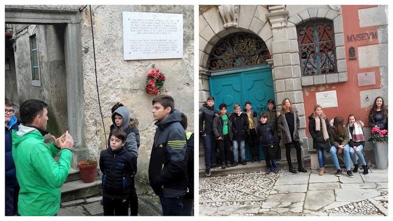 Učenici, članovi Vijeća učenika OŠ I.L.Ribar prisjetili su se važnosti lika i djela poznate Labinjanke, učiteljice i pedagoginje Giuseppine Martinuzzi