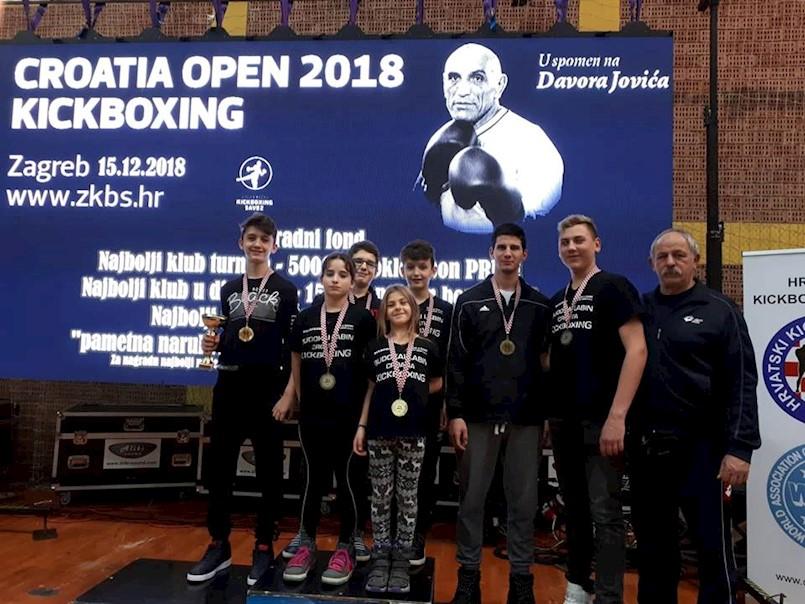 Laura Batelić,  Alan Tursunović i Marino Faraguna osvojili zlato na Otvorenom prvenstvu Hrvatske u kickboxingu