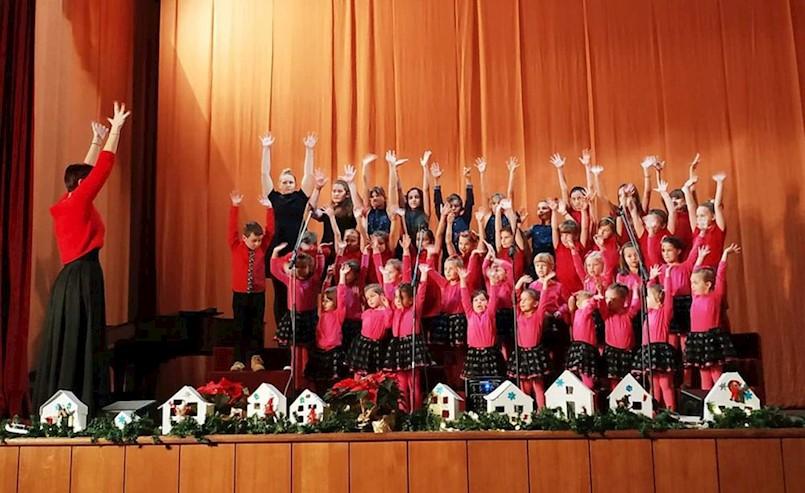 Božićni koncert dječjih zborova Zajednice Talijana