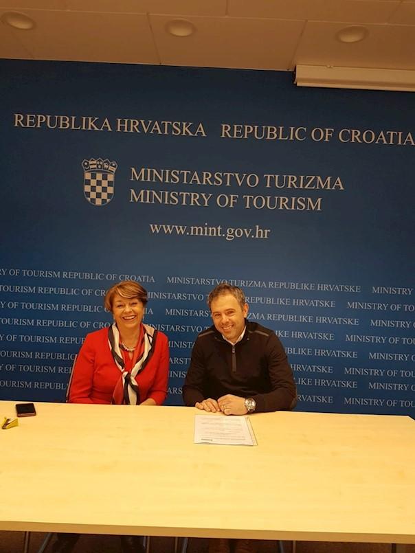 Potpisan Ugovor o sufinanciranju projekta sukladno Programu razvoja javne turističke infrastrukture u 2018. godini