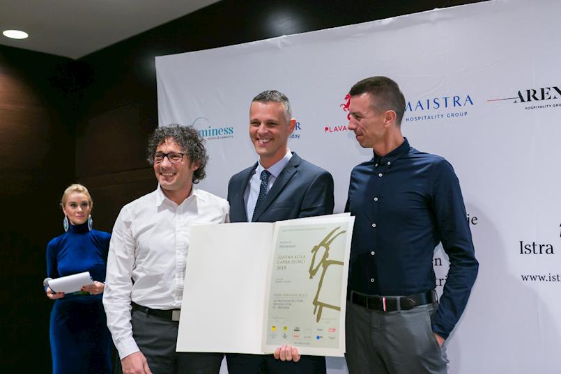 Alen Paliska i tim dobitnici su Zlatne koze u kategoriji sport za organizaciju utrke 100 milja Istre
