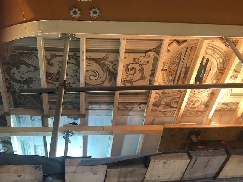 Nastavljeni radovi na obnovi Circola | u tijeku su restauratorski radovi na osliku plafona
