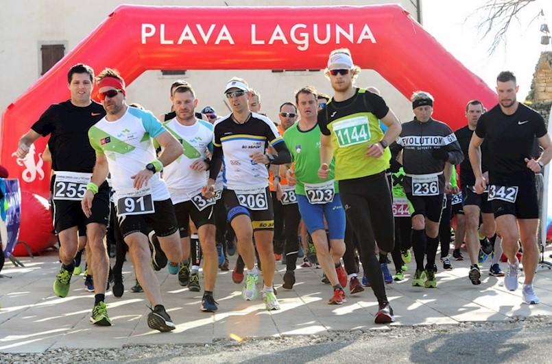 Ivan Kernjus, član Triatlon kluba Albona Extreme drugi u 5. kolu Istarske zimske lige u trčanju