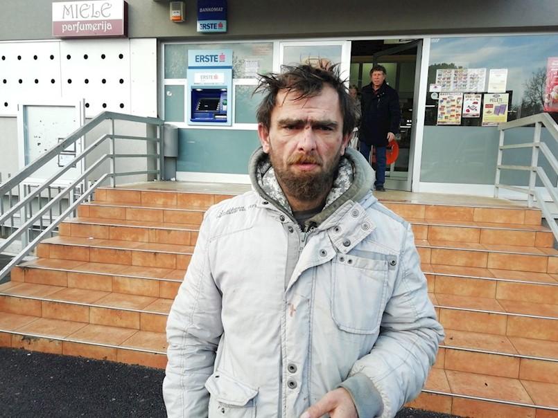Enver Mušanović iz Labina preživljava proseći: Moram jesti, a nemam stalnog posla