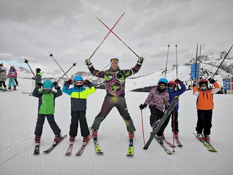 Ski klub Labin organizirao školu skijanja u Val Gardeni: Prednost domaće škole skijanja je u tome što NEMA JEZIČNE PREPREKE