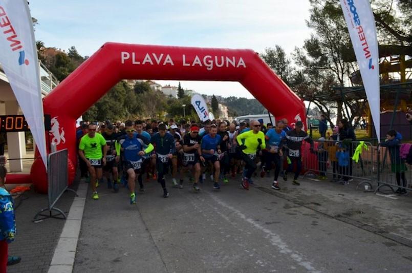 U Rapcu održano 6. kolo Istarske zimske lige u trčanju