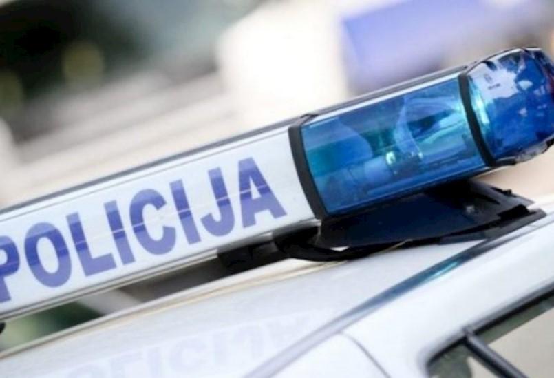 Prometna nesreća na kolniku ulice Senari u Labinu