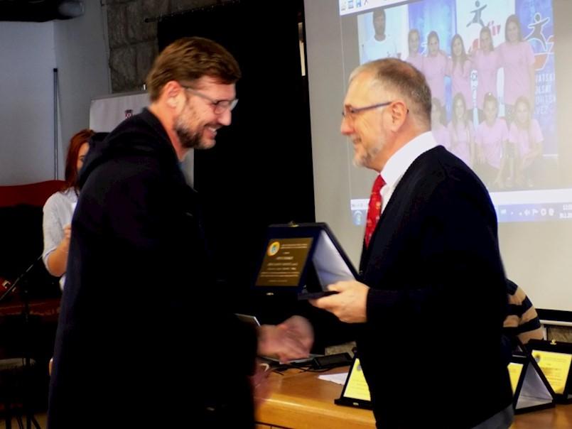 U Labinu održana svečanost dodjele priznanja najboljim školskim sportskim društvima