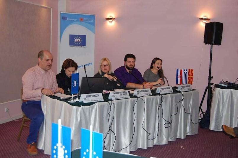 Savjet mladih Grada Labina i Alfa Albona na konferenciji u Skopju