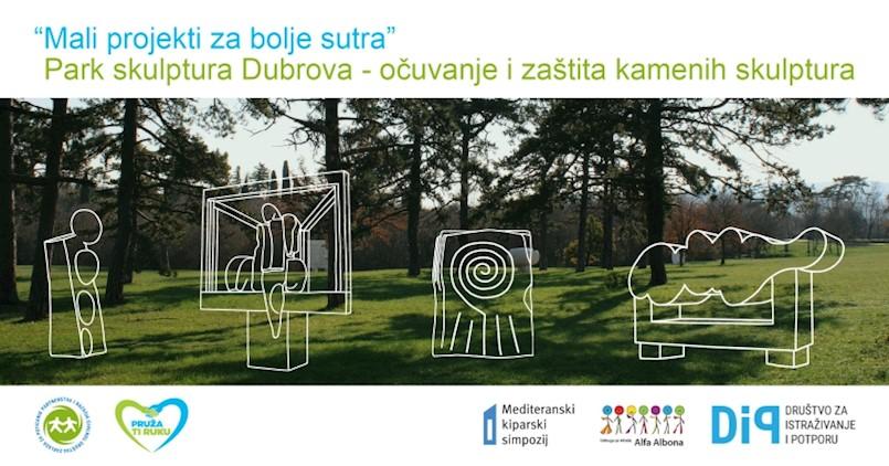 Park skulptura Dubrova mjesto susreta djece i mladih iz Labina i Rijeke