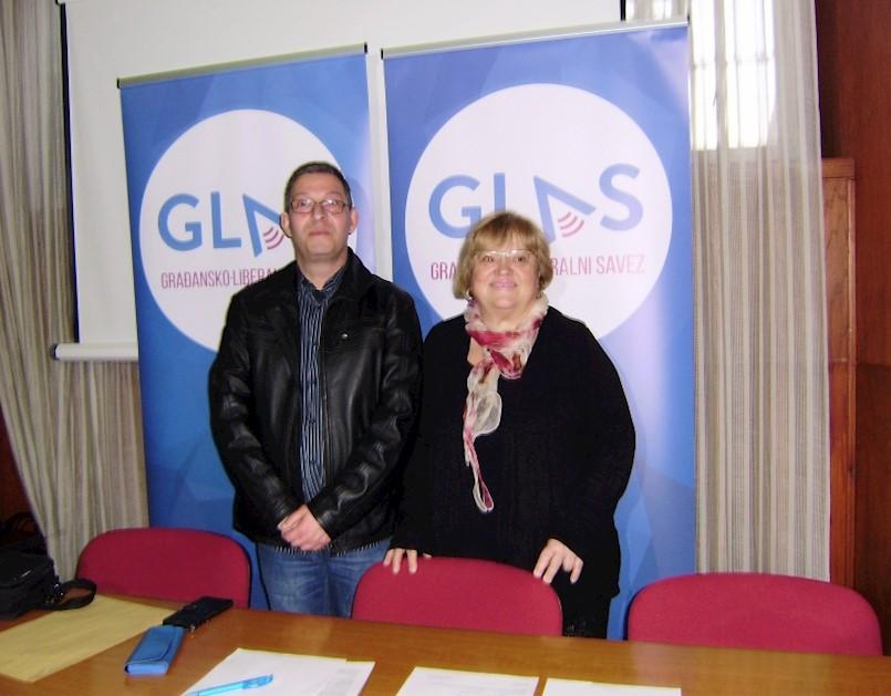 Giuliano Milevoj prvi predsjednik labinske podružnice GLAS-a