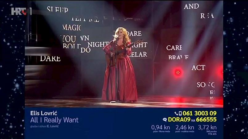 [VIDEO] Labinjanka Elis Lovrić je na natjecanju za Eurosong osvojila odlično treće mjesto