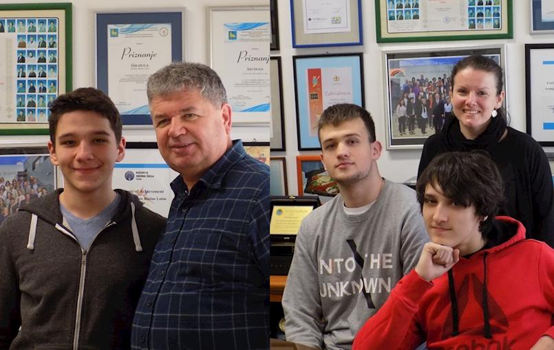 Učenici Srednje škole Mate Blažine na samom vrhu Županijskog natjecanja iz informatike