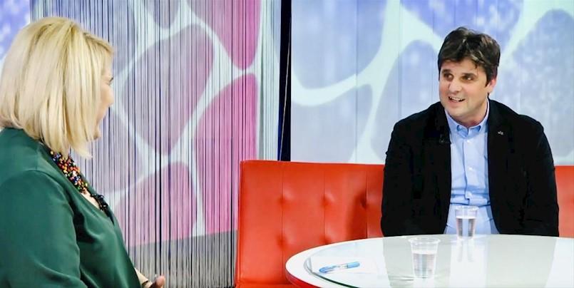 """Gradonačelnik Glavičić gostovao u emisiji """"Zapadna strana"""""""